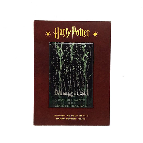 Magnet Harry Potter - Magical Waterplants of the Mediterranean