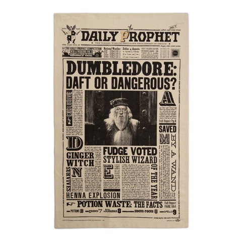Torchon - The Daily Prophet - Dumbledore: Daft or Dangerous?