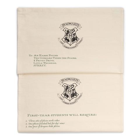 Torchon - Lettre d'acceptation d'Harry Potter à Poudlard