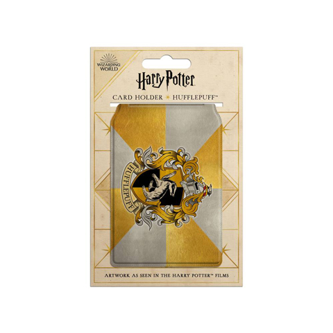 Porte-cartes - Armoiries de Hufflepuff