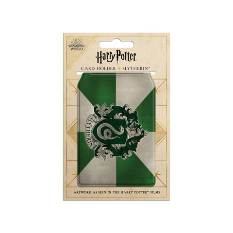 Porte-cartes - Armoiries de Slytherin