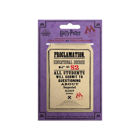 Porte-cartes - Proclamation 31