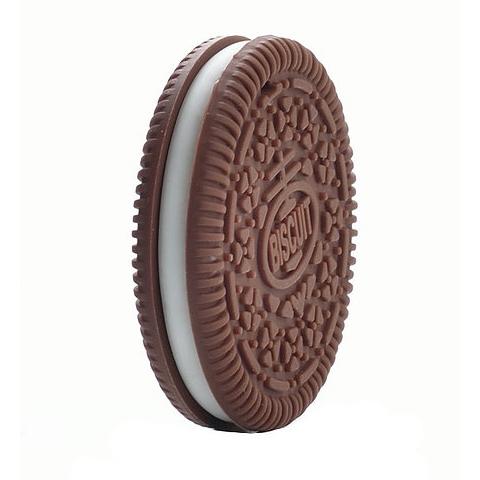 Anneau de dentition Geek - Biscuit marron