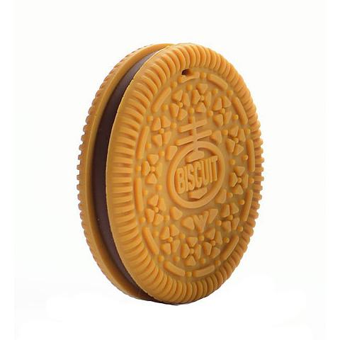 Anneau de dentition Geek - Biscuit marron clair