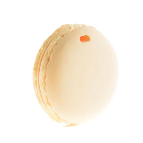 Anneau de dentition Geek - Macaron couleur crème