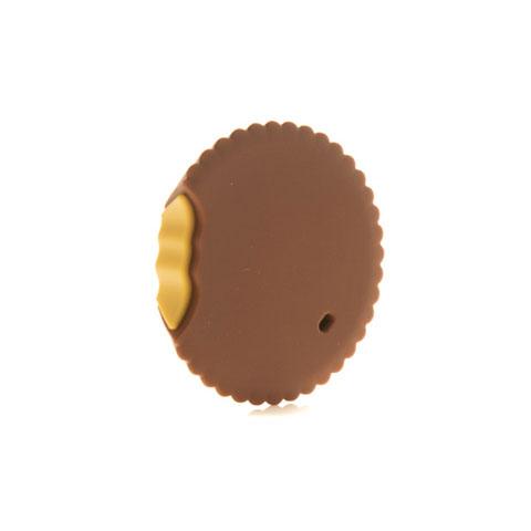 Anneau de dentition Geek - Biscuit beurre de cacahuète