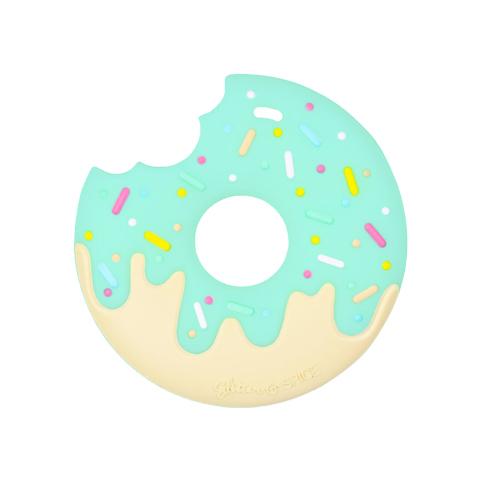Anneau de dentition Geek - Donut couleur Menthe