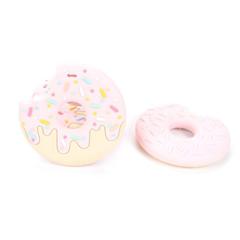 Anneau de dentition Geek - Donut couleur Fraise