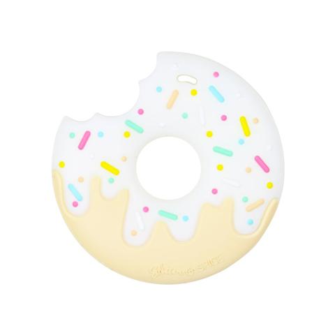 Anneau de dentition Geek - Donut couleur Vanille