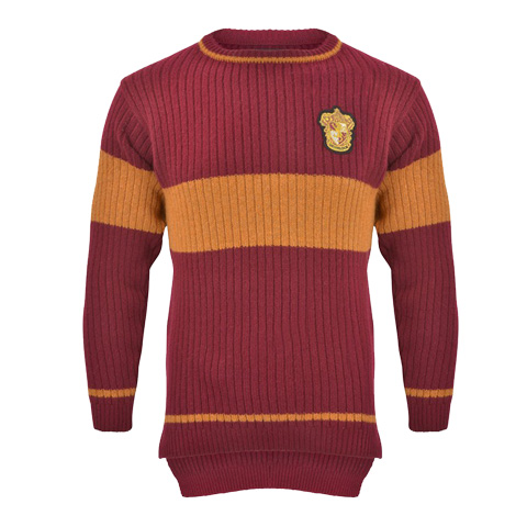 Pull de Quidditch - Maison Gryffondor - Harry Potter
