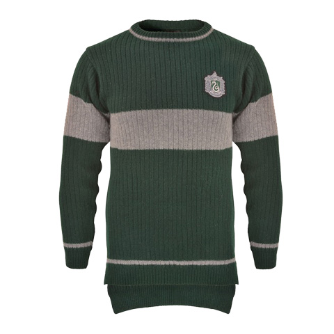 Pull de Quidditch - Maison Serpentard - Harry Potter
