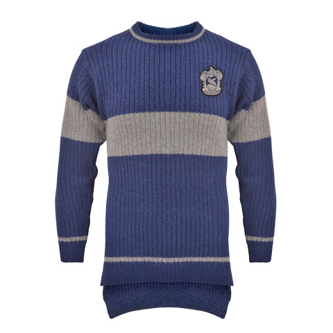 Pull de Quidditch - Maison Serdaigle - Harry Potter