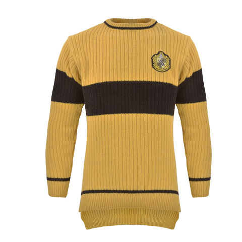 Pull de Quidditch - Maison Poufsouffle - Harry Potter