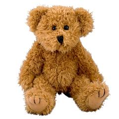 Peluche ours articulé - 20 cm - Baby safe