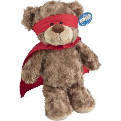 Peluche ours super-héros - 45cm
