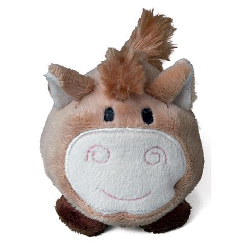 Peluche cheval marron - 7 cm - Essuie-écran - Schmoozie
