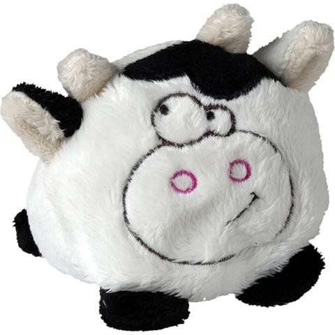 Peluche vache noire - 7 cm - Essuie-écran - Schmoozie