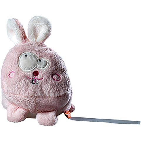Peluche lapin rose - 7 cm - Essuie-écran - Schmoozie