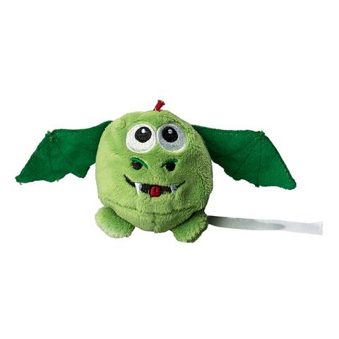 Peluche dragon vert - 7 cm - Essuie-écran