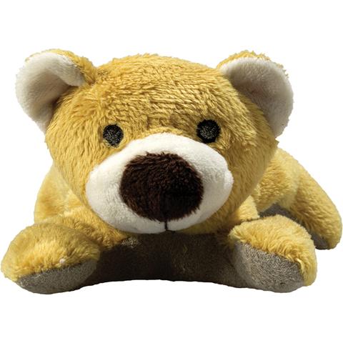 Peluche ours marron - 12 cm - Essuie-écran
