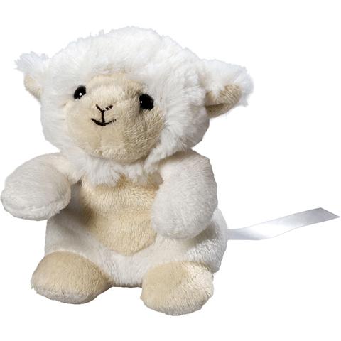 Peluche mouton - 12 cm - Essuie-écran