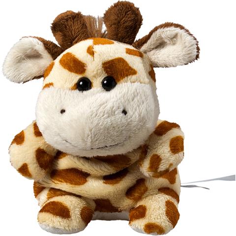 Peluche girafe - 11 cm - Essuie-écran