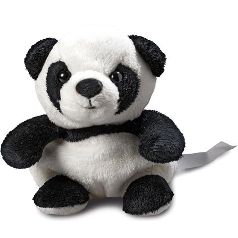 Peluche panda - 11 cm - Essuie-écran