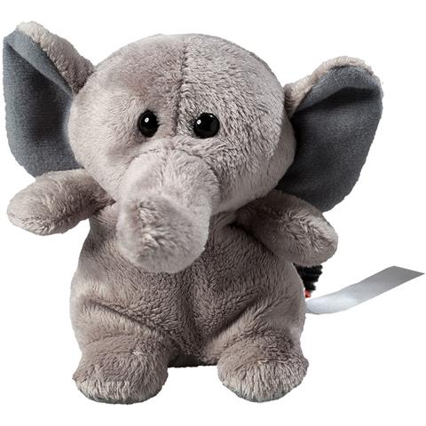 Peluche éléphant - 11 cm - Essuie-écran