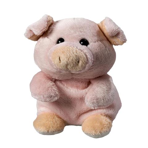 Peluche cochon rose - 12 cm - Essuie-écran