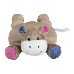 Bouillotte Hippopotame - 28 cm - Baby safe