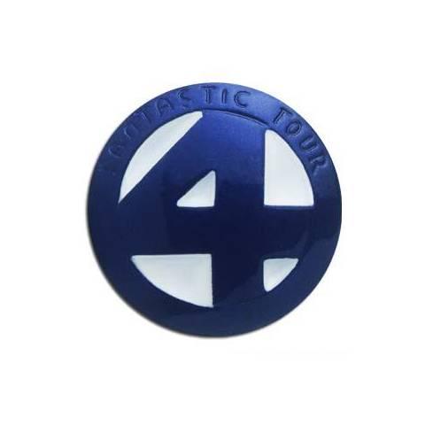 Pendentif Bleu et Blanc - Les 4 Fantastiques - Marvel