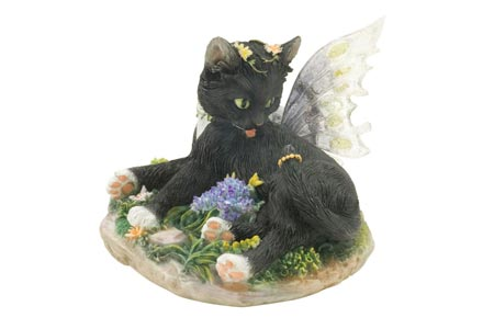 Zoe - Figurine Chat avec ailes - Fairy Glen - Munro