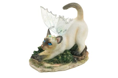 Dutchess - Figurine Chat avec ailes - Fairy Glen - Munro