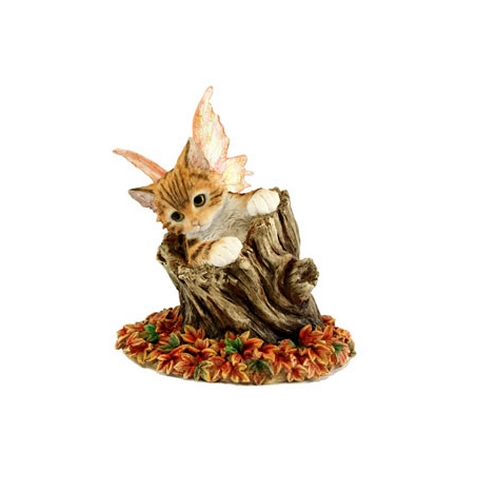 Bella - Figurine Chat avec ailes - Fairy Glen - Munro