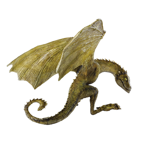 Game of Thrones - Rhaegal Sculpture Dragon