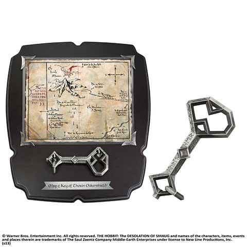 Thorin - Clé et Carte de Thorin
