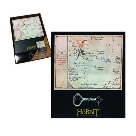 Clé de Thorin et carte