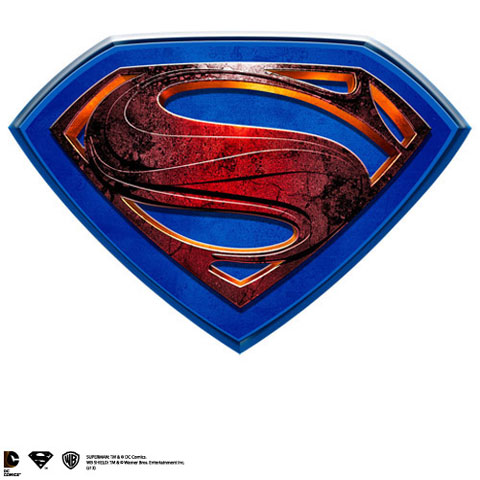 Man of Steel - Plaque Murale
