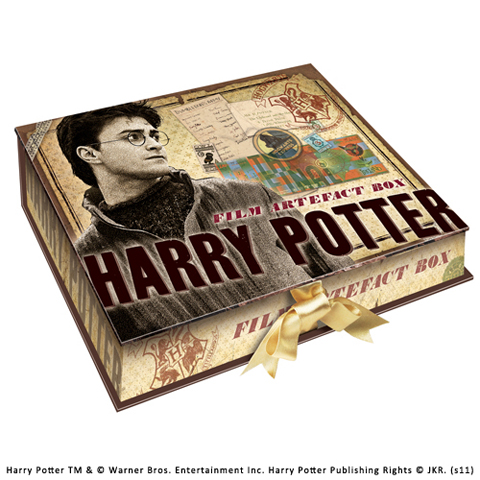 Boite d'artefacts Harry Potter