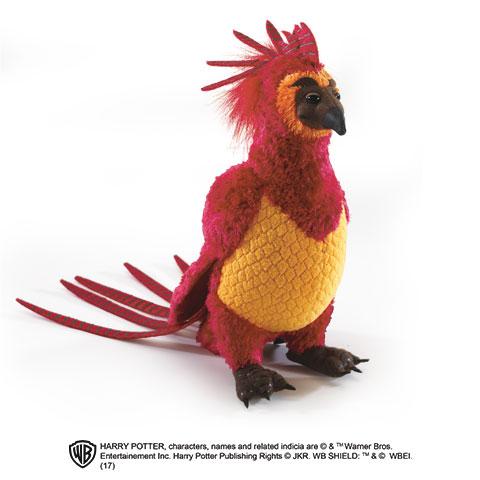 Petite peluche Fumseck le Phénix - Harry Potter
