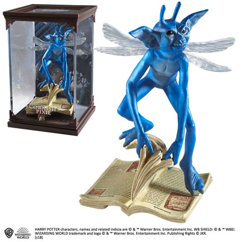 Créatures magiques - Lutin de Cornouailles - Figurines Harry Potter
