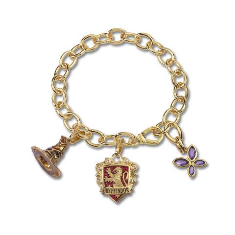 Bracelet Charms - Lumos Gryffondor - Harry Potter