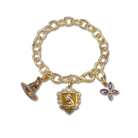 Bracelet Charms - Lumos Poufsouffle - Harry Potter