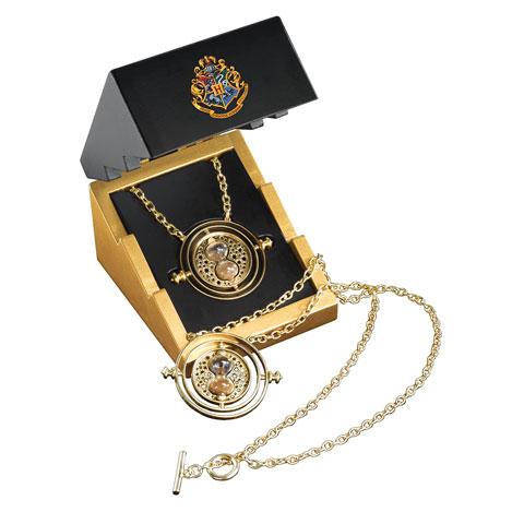 Retourneur de temps™ - Edition argent 925e plaqué or