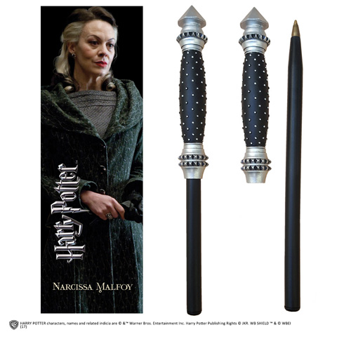 Stylo baguette & Marque-page Narcissa Malefoy