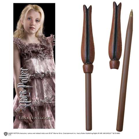 Stylo baguette & Marque-page Luna Lovegood