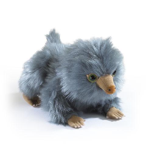 Peluche bébé Niffleur gris - Les Animaux Fantastiques