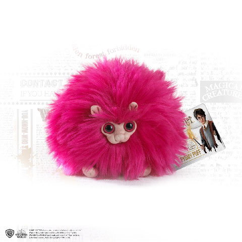 Petite peluche Boursouflet Rose - Harry Potter