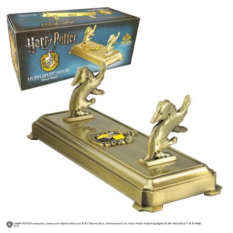 Présentoir Poufsouffle pour baguette - Harry Potter