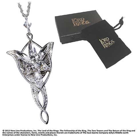 Arwen - Pendentif Étoile du Soir - Réplique -  Seigneur des Anneaux